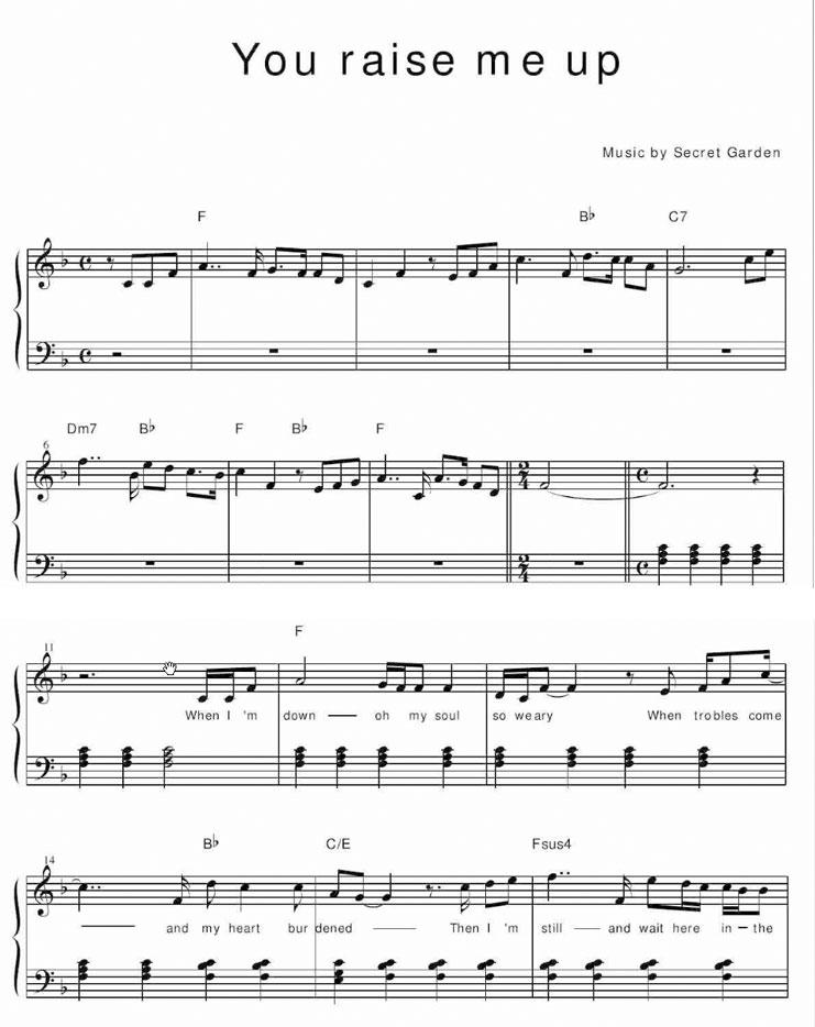 的谱子 61  有没有人和我一样弹哈农,拜厄,巴赫初级钢琴曲集的朋友