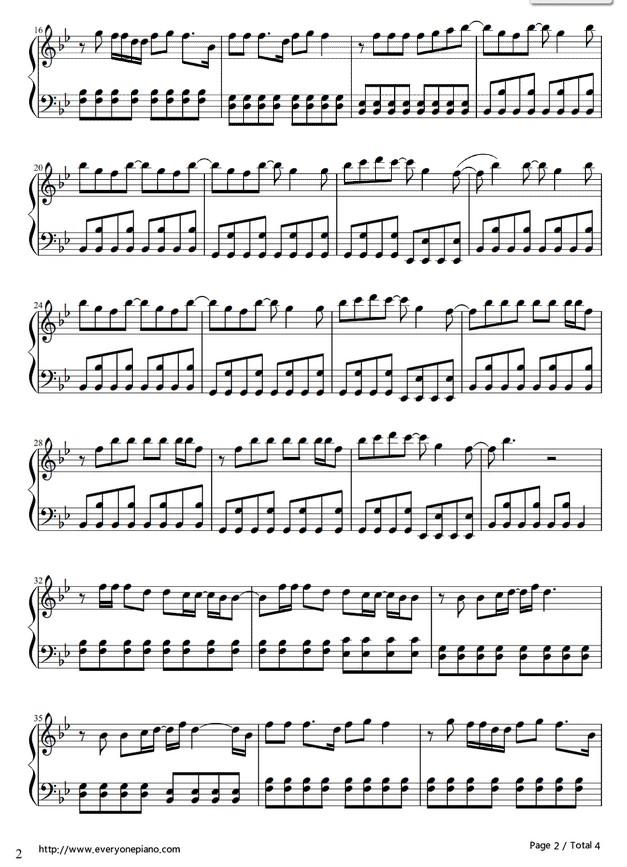 求roar的钢琴谱!我想弹